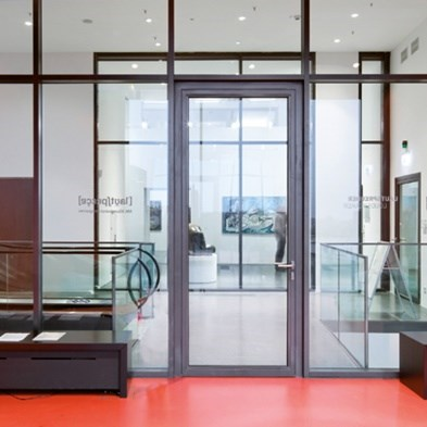 Glass Fire Door and Fire Resistant Glass Partition Wall | Janisol C4 EI60 - EI90 - 0