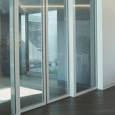 Glass Fire Door and Fire Resistant Glass Partition Wall | Janisol C4 EI60 - EI90 - 4