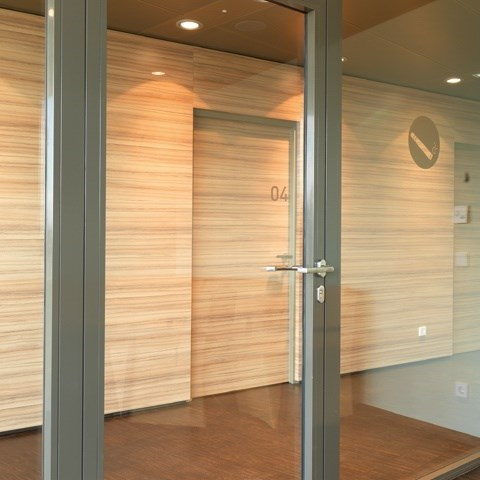 Glass Fire Door and Fire Resistant Glass Partition Wall | Janisol C4 EI60 - EI90 - 7
