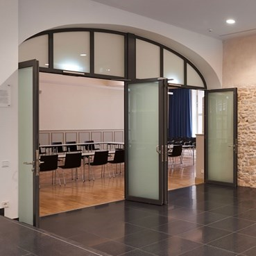 Glass Fire Door and Fire Resistant Glass Partition Wall | Janisol C4 EI60 - EI90 - 10