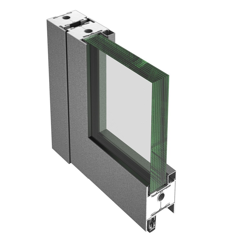 Glass Fire Door and Fire Resistant Glass Partition Wall | Janisol C4 EI60 - EI90 - 16
