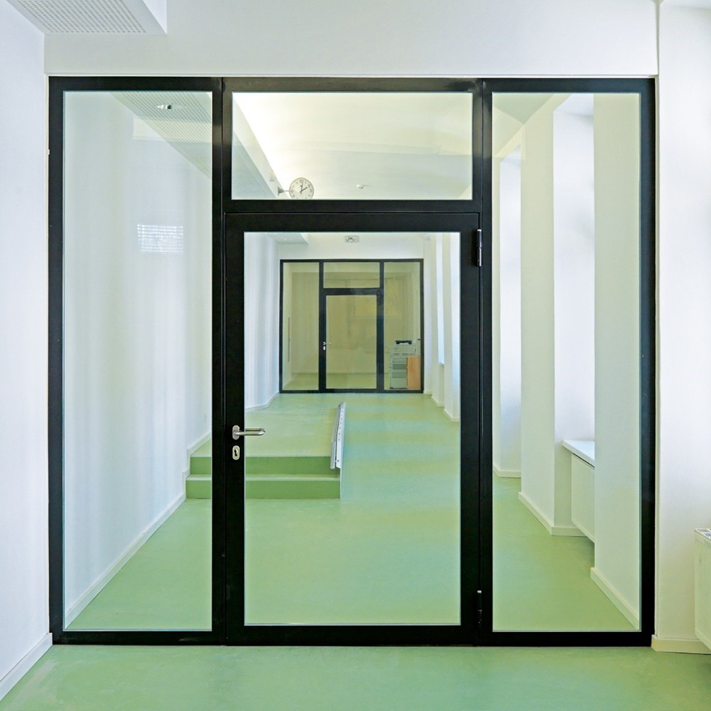 Glass Fire Door and Fire Resistant Glass Partition Wall | Janisol C4 EI60 - EI90 - 18
