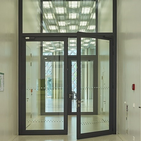 Glass Fire Door and Fire Resistant Glass Partition Wall | Janisol C4 EI60 - EI90 - 11