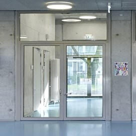 Glass Fire Door and Fire Resistant Glass Partition Wall | Janisol C4 EI60 - EI90 - 12