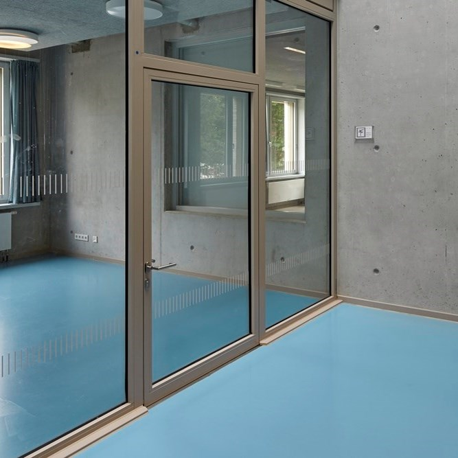 Glass Fire Door and Fire Resistant Glass Partition Wall   Janisol 2 EI30 - 15