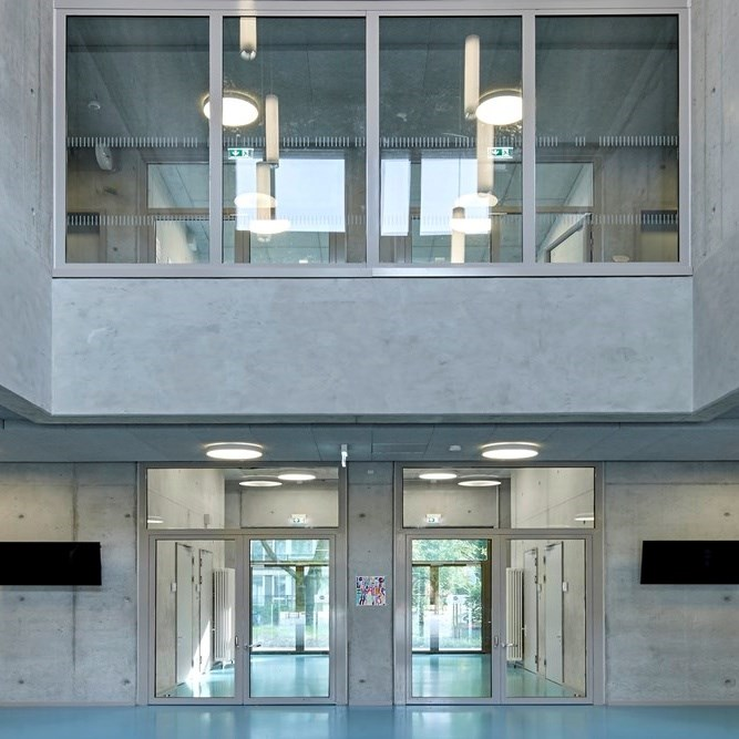 Glass Fire Door and Fire Resistant Glass Partition Wall   Janisol 2 EI30 - 14