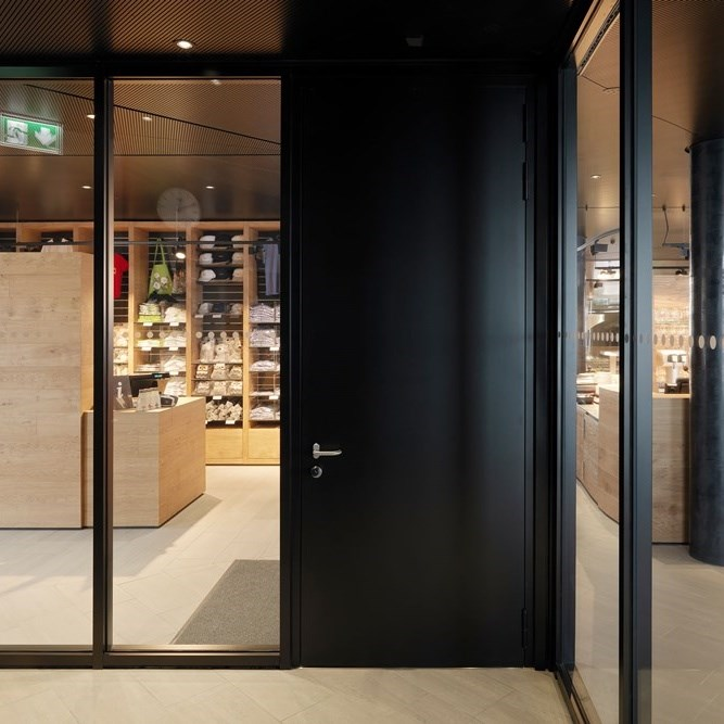 Glass Fire Door and Fire Resistant Glass Partition Wall   Janisol 2 EI30 - 9