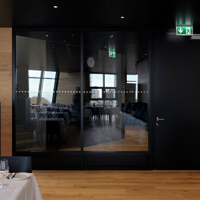 Glass Fire Door and Fire Resistant Glass Partition Wall   Janisol 2 EI30 - 10