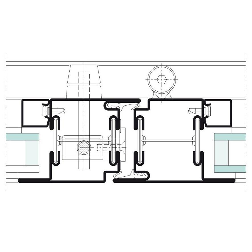 Janisol Steel Sliding Folding Door - 21