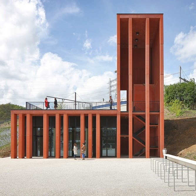 VISS Theft Resistant Steel Profile Facade System - 1