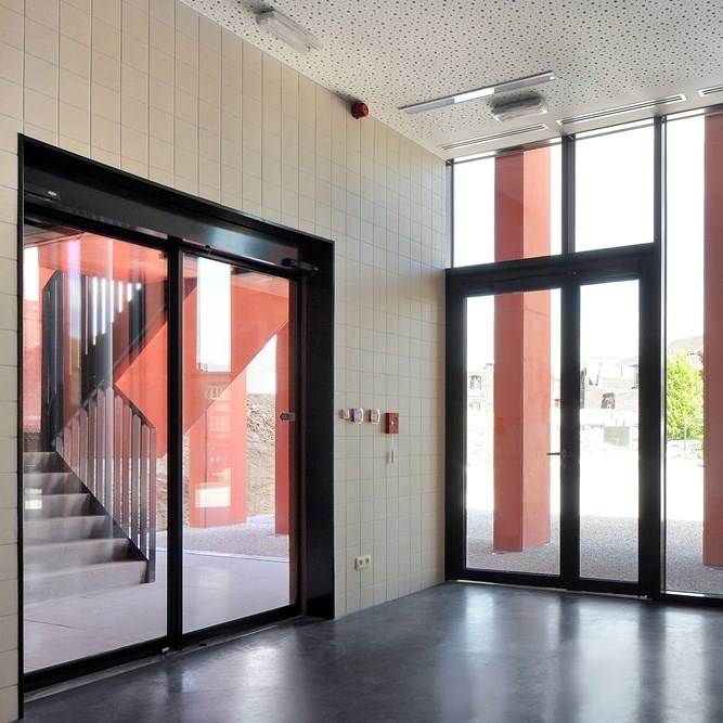 VISS Theft Resistant Steel Profile Facade System - 5