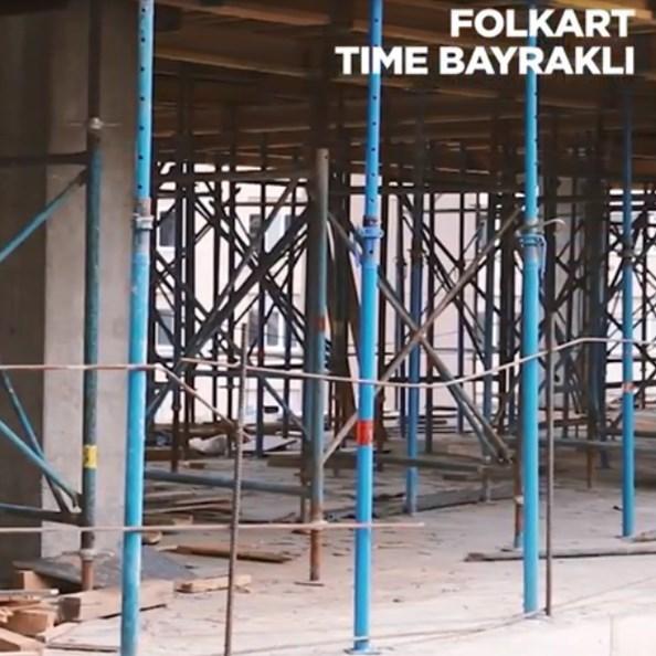 Folkart Time Bayraklı Projesi