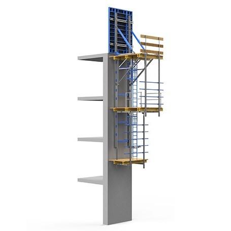 FRAMESET® Hydraulic Climbing Formwork System