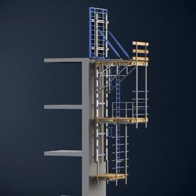 FRAMESET Hidrolik Tırmanır Kalıp Sistemi