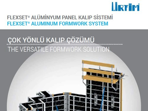 FLEXSET® Alüminyum Panel Kalıp Sistemi