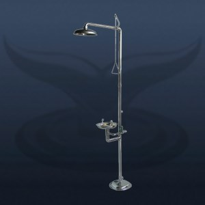 Stainless Emergency Eye and Body Wash Shower | ST-31000