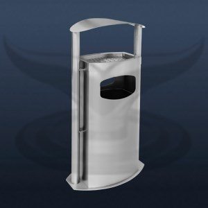 Outdoor Trash Can | STP-2009