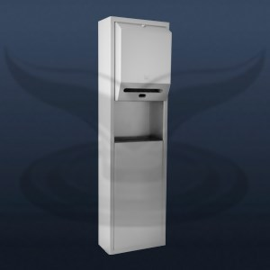Photocell Paper Dispenser and Trash Can | STT-1328-2