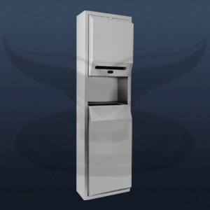 Photocell Paper Dispenser and Trash Can | STT-1328