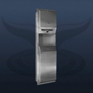 Photocell Paper Dispenser and Trash Can | STT-1327
