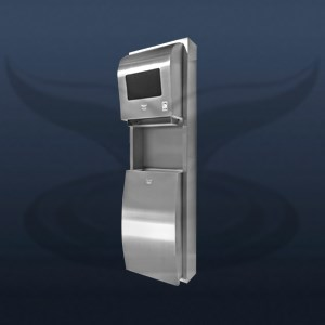 Photocell Paper Dispenser and Trash Can | STT-1326