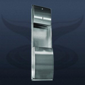 Paper Towel Holder and Dustbin | ST-602E