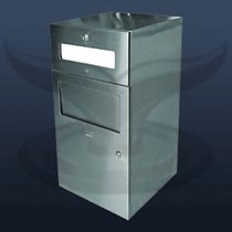 Tezgah Altı Kağıt Havluluk ve Çöp Kovası | ST-0905