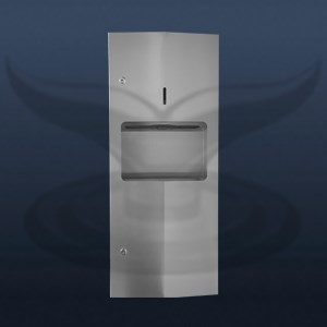 Manual Paper Towel Holder and Dustbin | ST-64623K