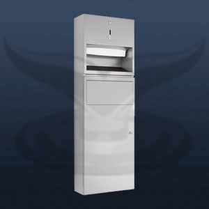 Manual Paper Towel Holder and Dustbin | STD-898