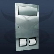 Gömme WC Kağıtlık ve Çöp Kovası | ST-0483