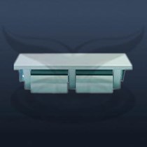 İkili Kapaklı WC Kağıtlık | ST-694