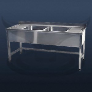 Countertop with Double Sink | STD-7033