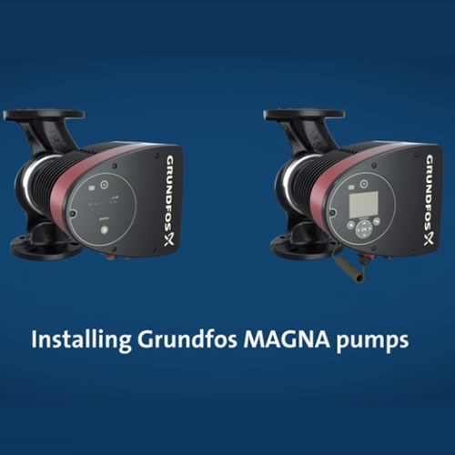 Installation and Control of Grundfos Magna Circulator Pumps