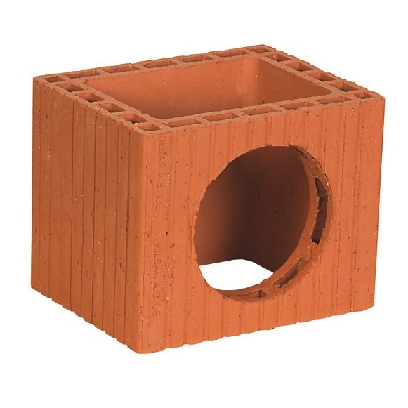 Chimney Bricks | Three-Hole Square