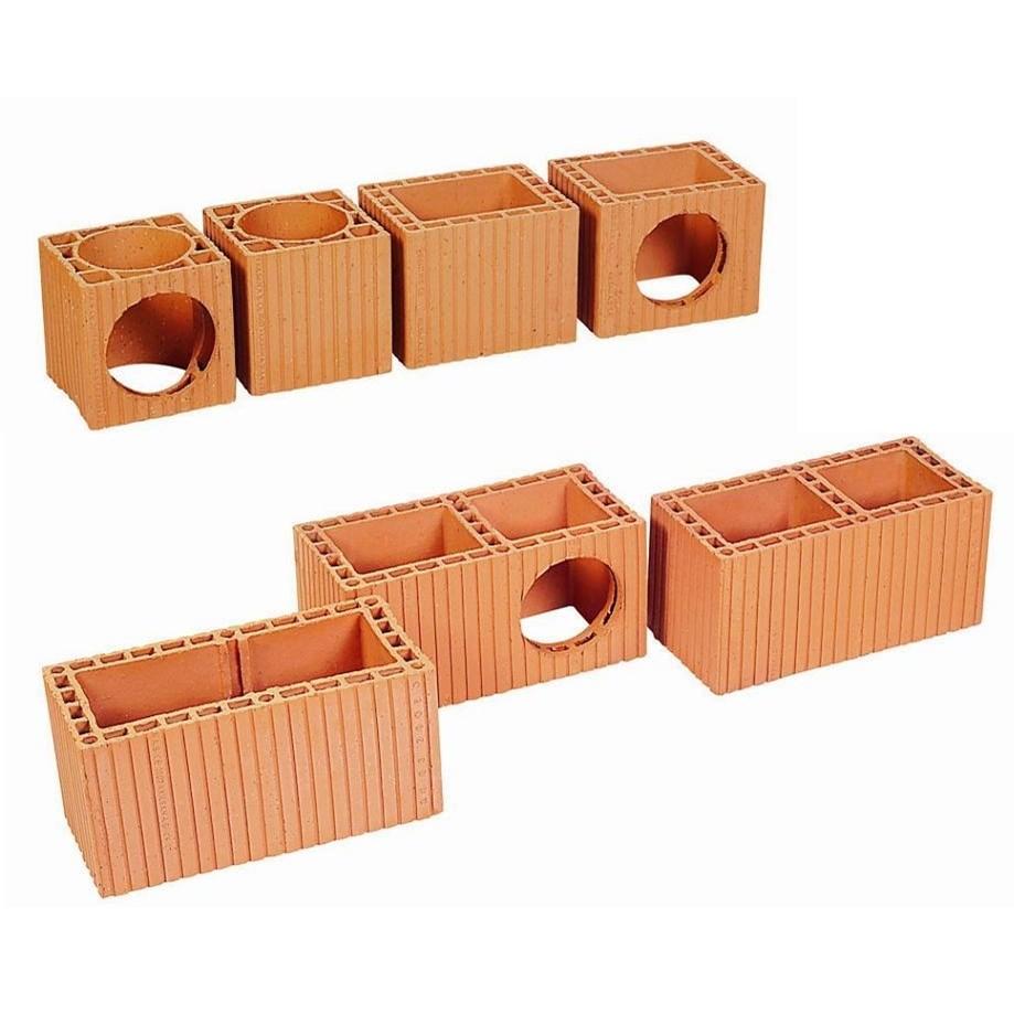 Chimney Bricks | Three-Hole Circular - 0