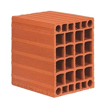 Horizontal Perforated Bricks | 23,5x25x18,5 Carcass