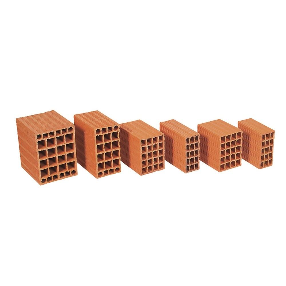 Horizontal Perforated Brick | 23,5x25x13,5 Carcass - 0