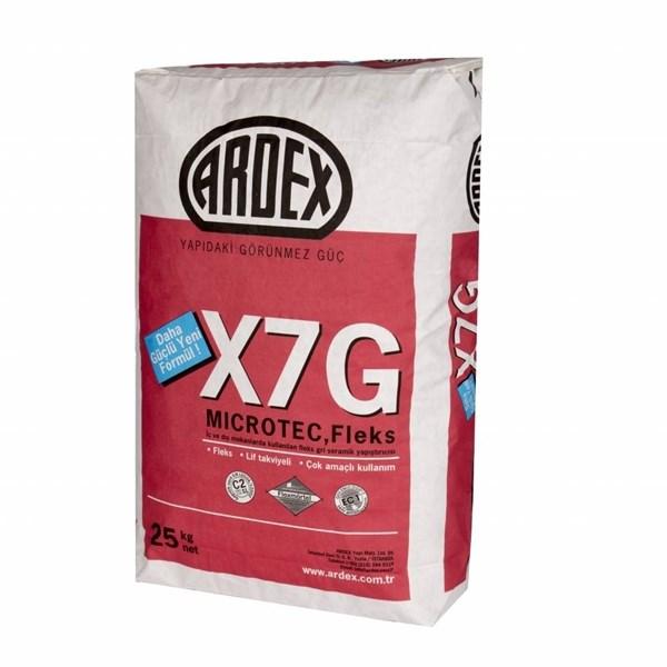 ARDEX X 7 G MICROTEC Gray Microtec Flex Adhesive
