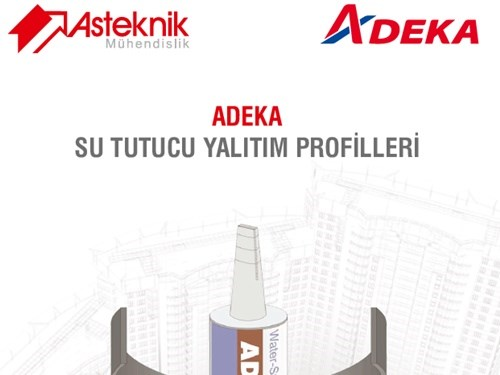 Adeka Waterstop Insulation Profiles