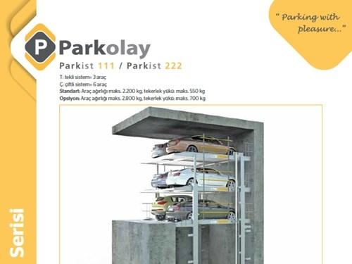 Parkist 111 - Parkist 222 Otopark Sistemi Ürün Teknik Dosyası