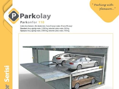Parkonfor 110 Otopark Sistemi Ürün Teknik Dosyası