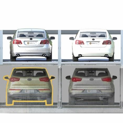 Parkonfor 110 Car Parking System with Pit - 0