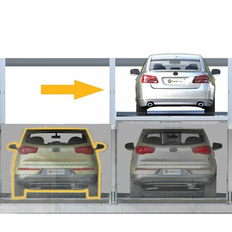Parkonfor 110 Car Parking System with Pit - 1