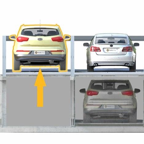 Parkonfor 110 Car Parking System with Pit - 2