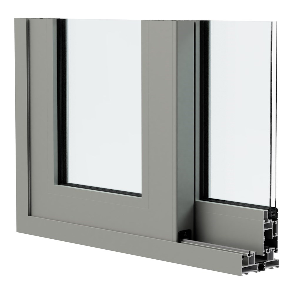 SAT 120 LS - Insulated Sliding System