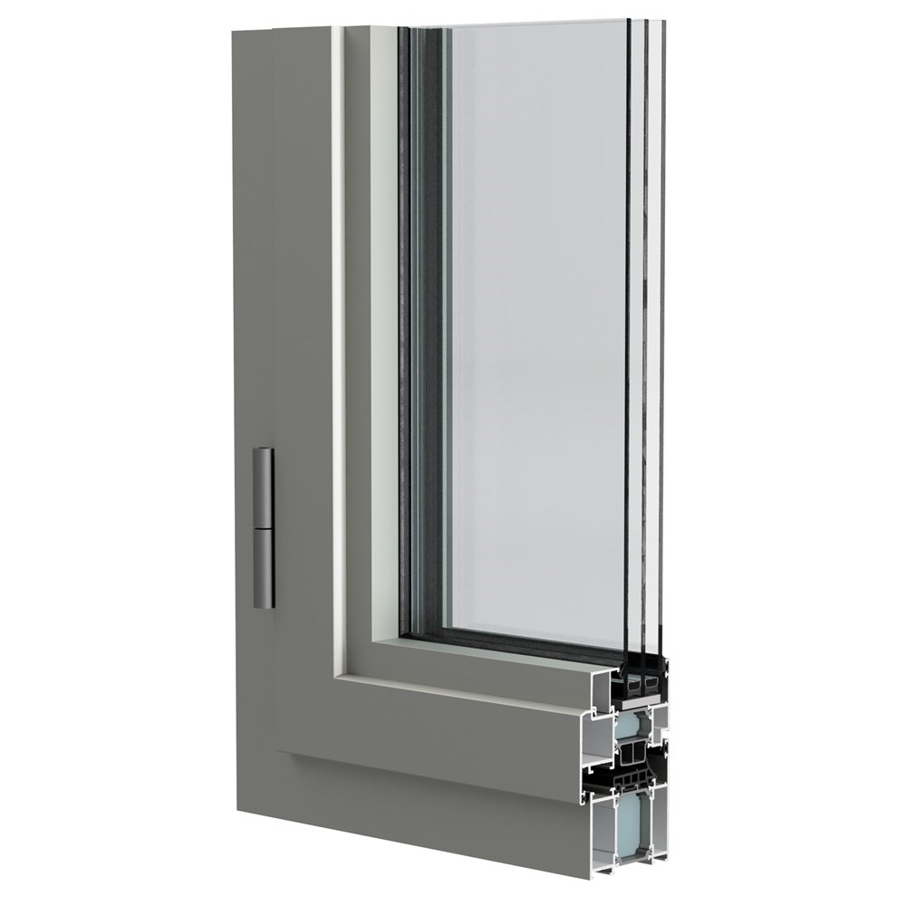 WAT 73 - Insulated Door & Window System