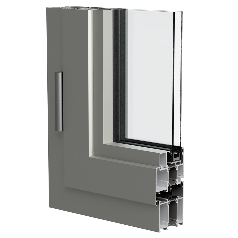 WAT 63 - Insulated Door & Window System