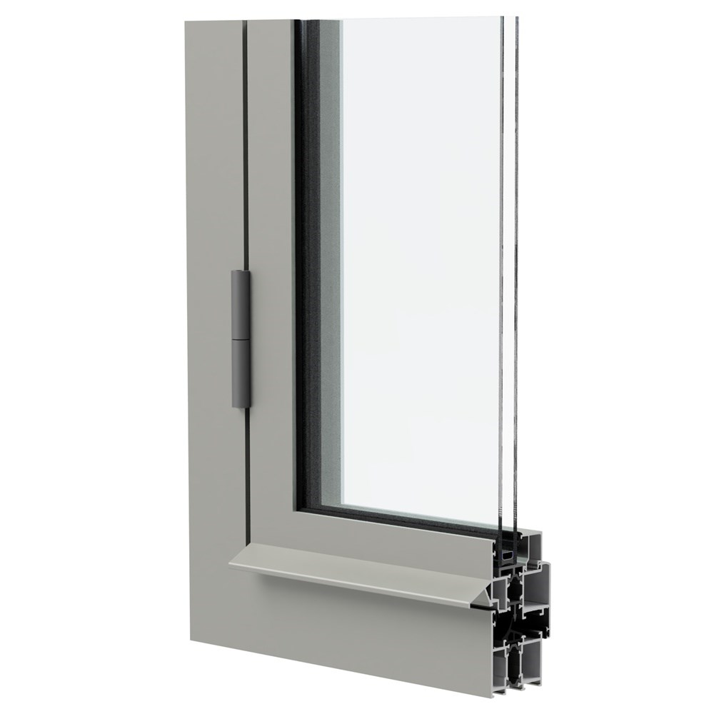 WAT 55 - Insulated Door & Window System