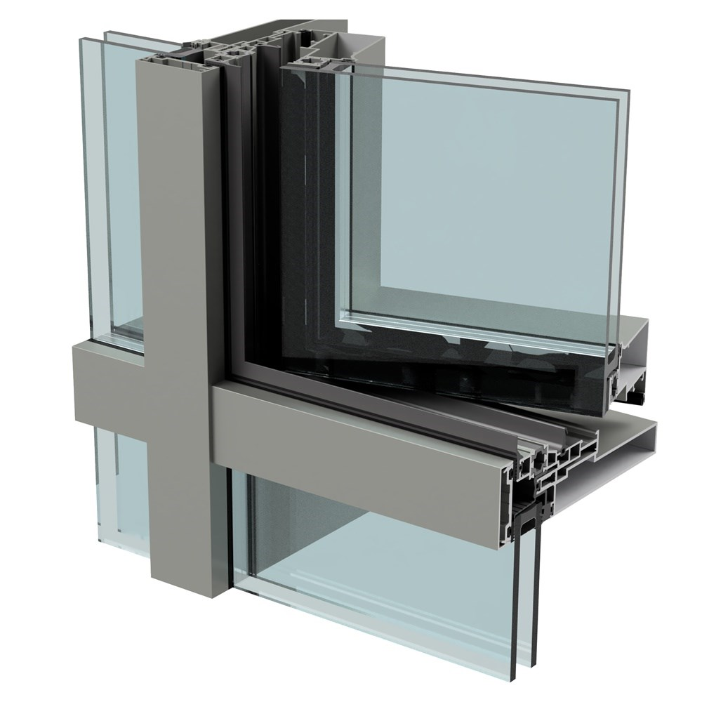 CWA 50 HV - Curtain Wall System
