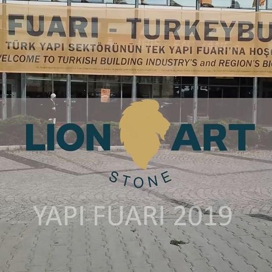 Lion Stone Art İstanbul Yapı Fuarı 2019 - II